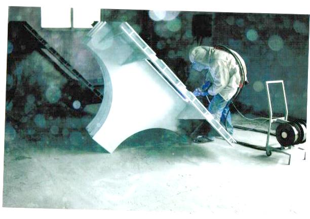 简单介绍喷铝前的准备和条件